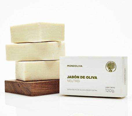 Cosm ticos mondoliva jab n de oliva neutro for Jabon neutro para limpiar